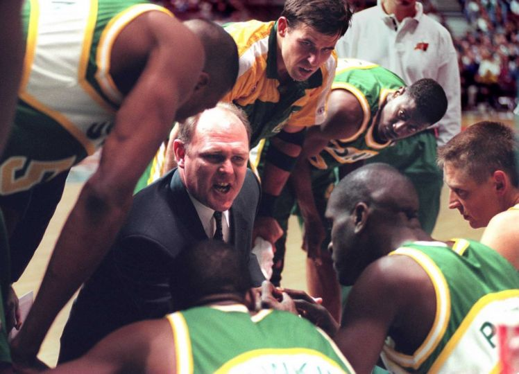 George Karl Seattle SuperSonics Coach